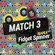 Match 3 Fidget Spinner Mania by Wantarman