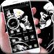 Mr Skeleton Theme skull by Wonderful DIY Studio