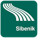 Sibenik Map offline by iniCall.com