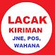 Lacak Resi JNE POS Wahana. by gadis bandung