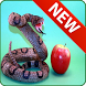 Game snake and apple by sandra prima