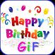 Happy Birthday Gifs 2017 by kingoapps