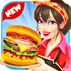 Kitchen Fever Chef; Burger Cooking & Cashier Game