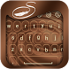 Chocolate Keyboard Theme by Stylish Keyboard App