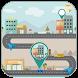 GPS Route Finder On Maps by Stranger Foto Ltd