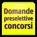 Domande Preselettive Concorsi by Fernando Sachetti