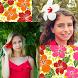 Hibiscus Photo Collage