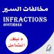Infractions routières maroc مخالفات السير 2018
