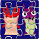 Puzzle Jigsaw Slug Toys by Gamikids