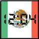 Flag LCD Clock Widget Mexico by David'M