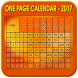 One Page Calendar 2017 by Saisarvani apps