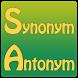 Synonym Antonym by Dizzy Heights
