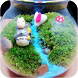 Miniature Micro Garden Totoro by Amazing Wallpaper & Themes