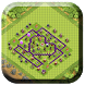 Town Hall 7 Trophy Base Layout by sankaapps