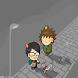 他踢的-帶貓咪一起散步佈景主題 by Rock Mobile Corporation