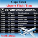 Cape Town Airport Flight Time by AsoftTech