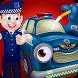 Police Car Wash & Design by funfox