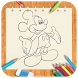 Draw cartoon MickeyMouse by Jack Reacher