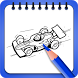 Free Cars Coloring Book by playground