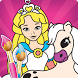 Pony & Princess Coloring Book by Lollipop Studio - Premium Games and Applications