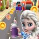 Subway Elsa Princess Run by MariaM888