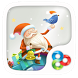 Santa Claus GO Launcher Theme by ZT.art