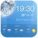 Free Clock & Weather Widget by Weather Widget Theme Dev Team