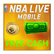 Free Cash for NBA LIVE Mobile Basketball Prank by Torsion s.r.o.