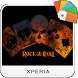 Rock N' Roll Xperia Theme by NeryComp
