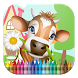On the Farm Coloring Book by 4hM3DEV