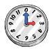 Cartoonish Analog Clock Widget by Q-Bit