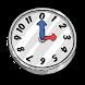 Cartoonish Analog Clock Widget by Q-Bit