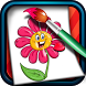 Coloring Game for Kids Flowers by Daily Casual Games
