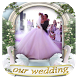 Photo Frame Weeding by iniQuis