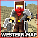 The Western Map for Minecraft by mcpeliha@gmail.com