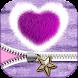 Fluffy Zipper Lock Screen by Thalia Ultimate Photo Editing