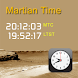Martian Time by Requio Web Design