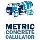 Metric Concrete Calculator
