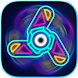 Spinner Simulator - Neon, Spin, Collect & Upgrade