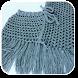 Crochet Poncho by blackpaw
