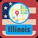 USA Illinois Maps