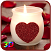 3D Candle Live Wallpaper