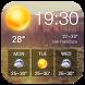 Transparent Weather Widget by Weather Widget Theme Dev Team