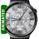 Classic White HD Watch Face by DeNitE Appz