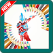 New Coloring Game for Children of Ultraman Ginga by Generus Creative