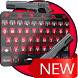 Red Hero Keyboard Theme by Android Applications 6