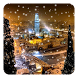 Snow Night City Live Wallpaper by Live Wallpapers Ultra