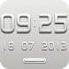 EVE Digital Clock Widget by memscape