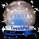 Stellar flare TouchPal Theme by Keyboard Emoji Themes