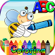 ABC Animal Coloring Vocabulary by WeGoGame